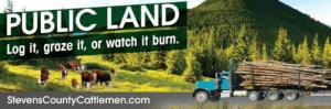 WA Ranchers Use Billboards to Promote Grazing