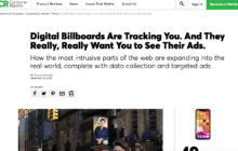 Consumer Reports on OOH and Privacy