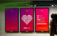 Outfront  Runs Social Media Valentines Day Campaign