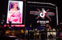 TikTok Activates OOH Livestream for the BRIT Awards