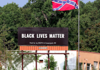 Black Lives Matter Billboard Coming Down
